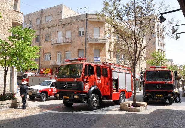 اندلاع حريق داخل محل تجاري في بلدة مسعدة في الجولان
