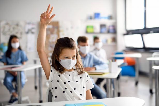 نموذج تجريبي يشمل أم الفحم: فحص طلاب المدارس مرة كل أسبوع