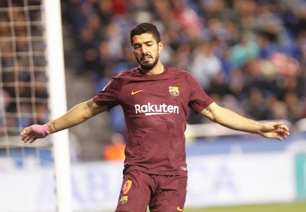 إصابة اللاعب لويس سواريز بفيروس كورونا!