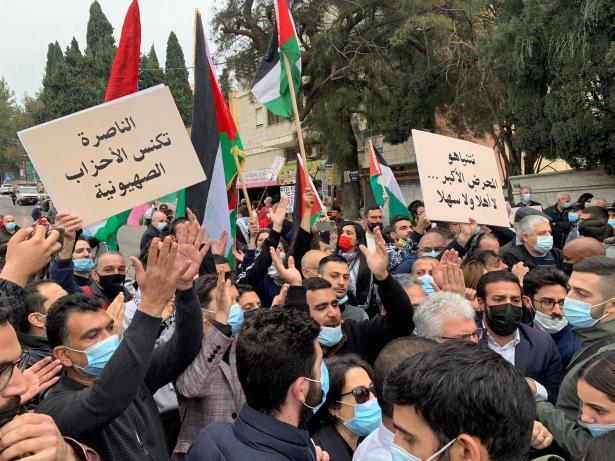 ملخص زيارة رئيس الوزراء للناصرة: احتجاج، اشتباكات واعتقالات أمام تجاهل سلّام ونتنياهو!