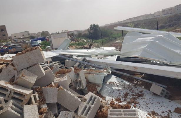 هدم العراقيب وبيوت في عدة قرى في النقب رغم البرد