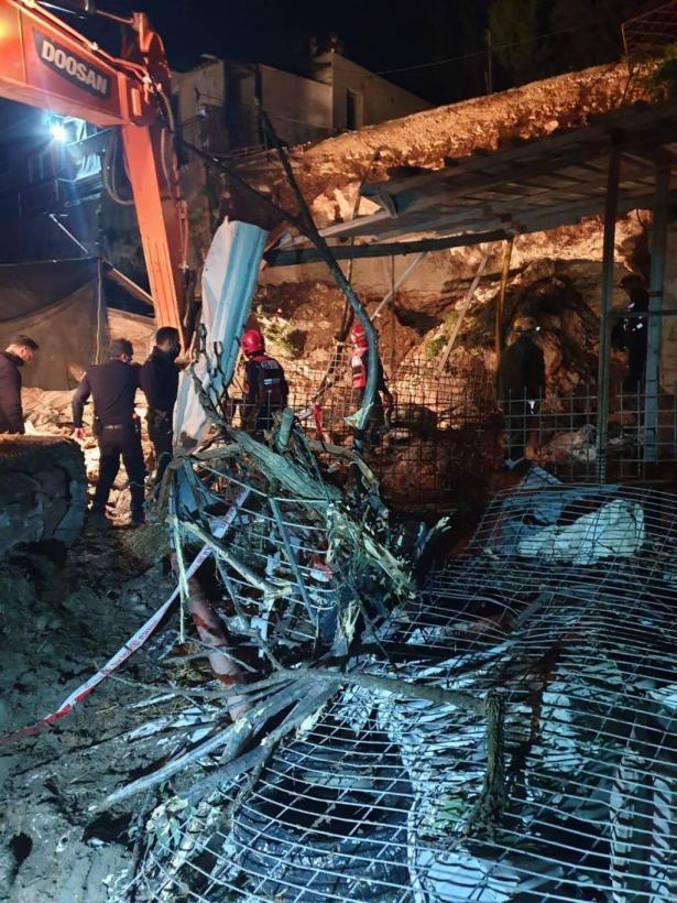 وفاة سيدة من ضميدة جراء انهيار جدار مغارة