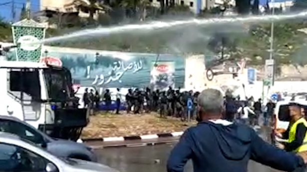 ام الفحم: إصابات واعتقالات في مظاهرة ضد تقاعس الشرطة