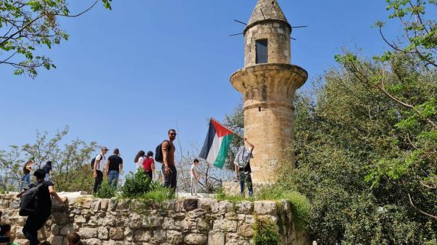 في ذكرى النكبة الـ73: مشاركة المئات من المواطنين العرب بمسيرات في القرى المهجرة - صور
