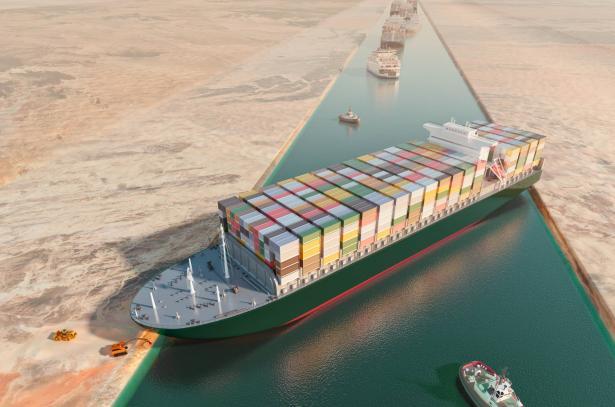 هيئة قناة السويس المصرية: إعادة تعويم السفينة تجري بنحاح وتم تعديل مسارها بنسبة 80%