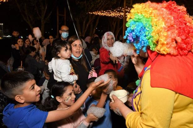انطلاق فعاليات رمضان ماركت في قرية كفرقرع