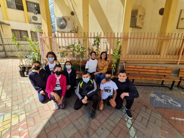 مبادرة زراعة أشجار في المدارس تهدف لمكافحة العنف في المجتمع العربي