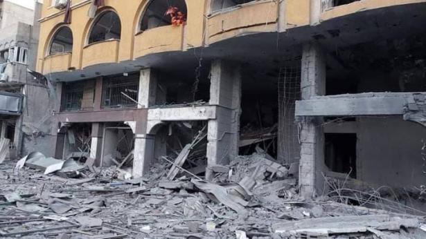 غارات إسرائيلية عنيفة على غزة لليوم التاسع