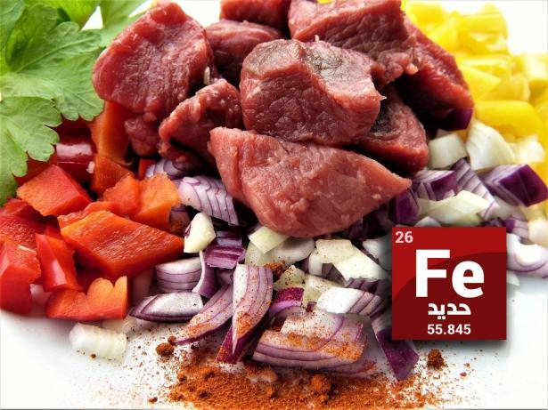 ما هي أعراض نقص الحديد وأي المأكولات تعوضه في الجسم؟