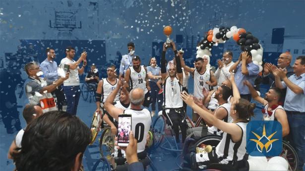 تُوج فريق هبوعيل مجد الكروم، ببطولة كأس الدولة، في كرة السلة على الكراسي المتحركة