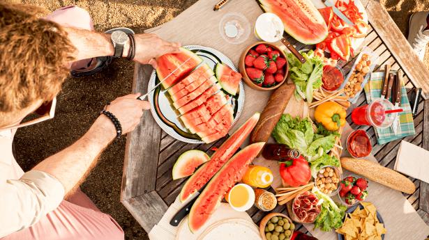 في الطقس الحار: ماذا نأكل؟