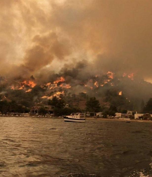 الصحفي علام صبيحات: حول الحرائق التي تجتاح جنوب تركيا