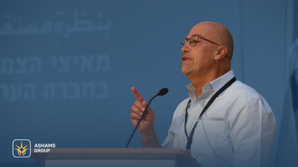سهيل كرّام في مؤتمر