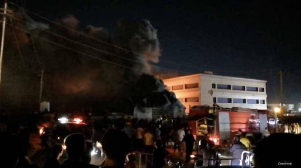 العراق: 40 قتيلا و30 جريحا في حريق مركز عزل مصابي كورونا