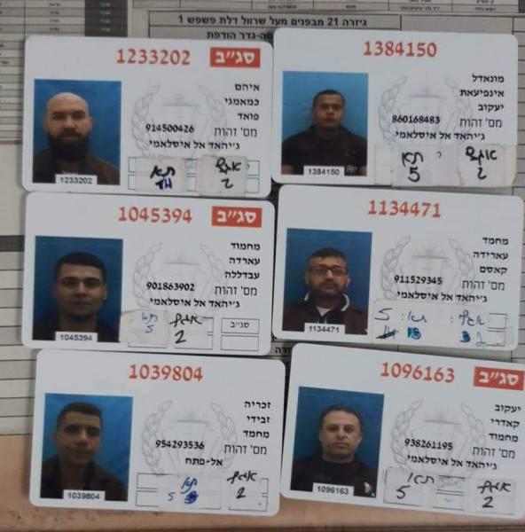 الأسرى الستة..فجّروا الأمل وأزالوا الخلافات بين الفلسطينيين!