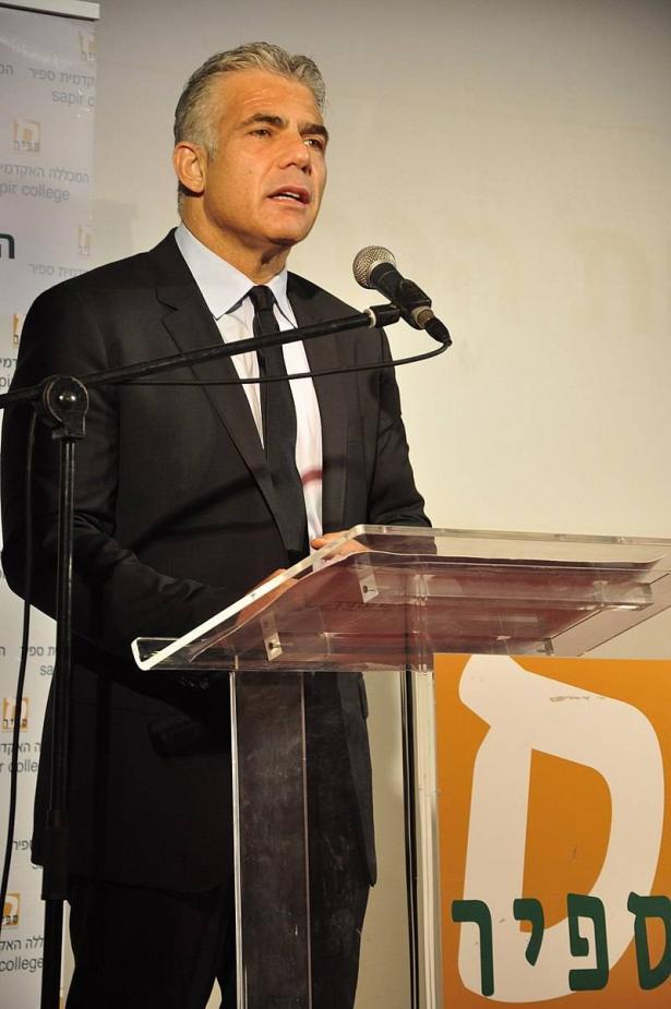 وزير الخارجية يائير لبيد: