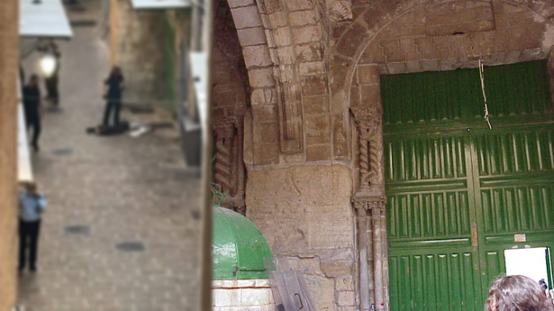 استشهاد شابة فلسطينية في باب السلسلة بالقدس بداعي محاولة الطعن