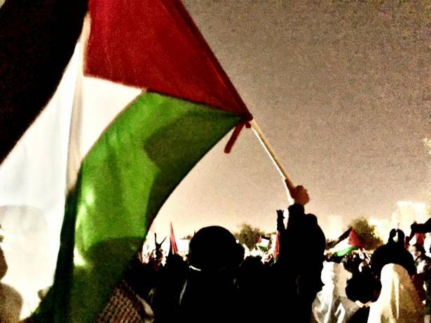 المحامي محمد محمود: رفع العلم الفلسطيني داخل الخط الأخضر لا يشكل جريمة يعاقب عليها القانون