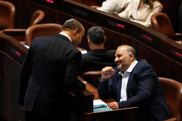 منصور عباس يصوت مع قرار استعمال الكنابيس الطبية