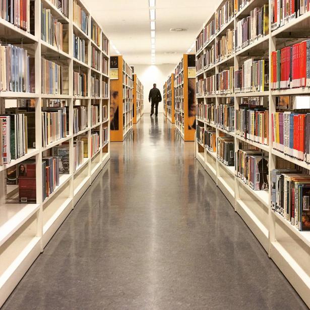 عنف من نوع آخر..الاعتداء على مكتبة!